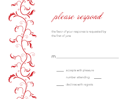 beautiful free rsvp card template ideas resume samples u0026 writing
