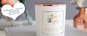 handmade personalized gifts personalised candles luxury handmade candles gifts for special
