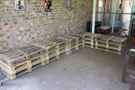 Plans For Building A Wooden Patio Table by Diy Outdoor Patio Furniture From Pallets