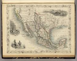 map of mexico and california mexico california and david rumsey historical map collection