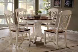 round oak kitchen table attractive round kitchen table 19 tables and chairs sets ikea 192