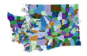 Map Of Washington State Counties by Maps And Web Sites