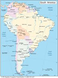 Bogota Colombia Map South America by South America Map