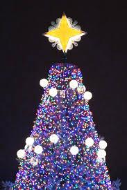 ge lighting illuminates the national christmas tree ge lighting