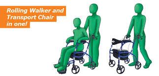 Transport Chairs Lightweight Hugo Navigator Rolling Walker Transport Chair U2013 Hugo Mobility