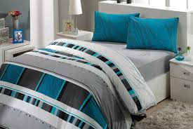 bedding set grey and turquoise bedding piquancy gold and grey