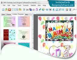 Business Card Creator Software Free Download Modern Birthday Card Design Software Free Download Rfah4n0