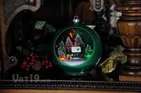 musical sparkling ornament plays 25 carols