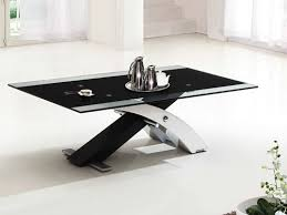 Black Leather Ottoman Coffee Table Round Black Leather Ottoman Coffee Table You Could Sit Down And