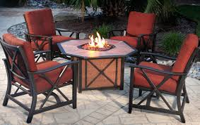 patio furniture with fire pit table outdoor furniture housewarmings