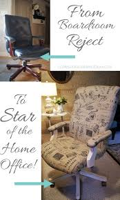 Office Chair Slipcover Pattern Give A Desk Chair A Whole New Look It U0027s Easier Than You Think