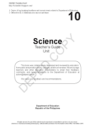 Asexual Reproduction Worksheets Sci10 Tg U3 Chemical Bond Learning