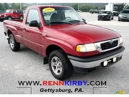 mazda b2500 1999 toreador red metallic mazda b series truck b2500 se regular