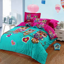 owl bedroom decor chinese traditional 3d owl printing bedding sets for kids girls