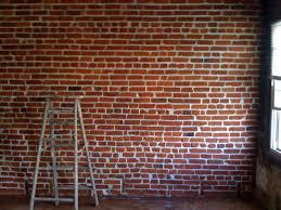 exposed brick interior wall design photos exposed brick wallpaper india best