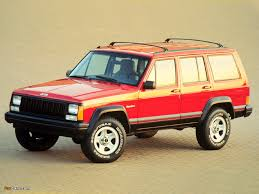 jeep cherokee yellow jeep cherokee sport xj 1988 u201396 wallpapers 1024x768