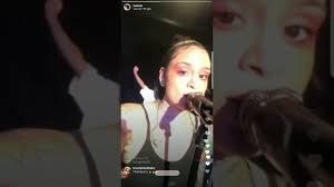 cyn santana burgundy hair kehlani rehearsal on ig live youtube