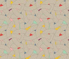 scandinavian color modern scandinavian multi colour color curve graphic tonal giftwrap
