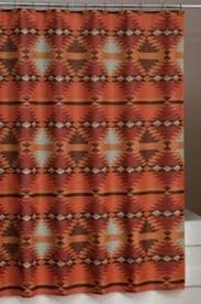 Southwestern Style Curtains Southwest Style Shower Curtains Teawing Co