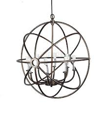 Iron Orb Chandelier Orb Chandeliers Collection On Ebay