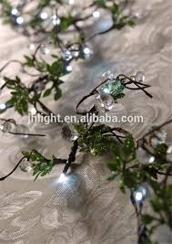 white branch led garland twig garland led lights garland buy