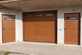 porta sezionale pannello doghe passo 125 simil legno pvc porte sezionali