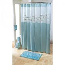 beachy shower curtains interior design
