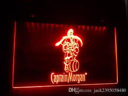 captain morgan neon bar light b 17 captain morgan spiced rum bar nr led neon light sign captain