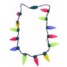 christmas light necklace free christmas bulb necklace get them free