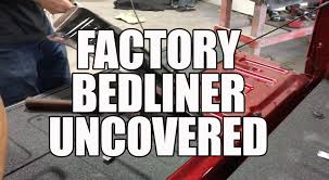 nissan frontier drop in bedliner 2016 ford f150 factory bedliner removal and replacement with line