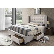 bedroom furniture with lots of storage storage beds you ll love wayfair