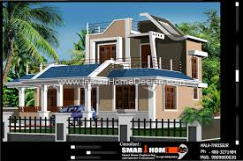 Smart Home Floor Plans Modern 1610 Sqft 3bhk Independent House Villa Floor Plan Design