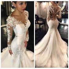 lace mermaid wedding dress 2017 new gorgeous lace mermaid wedding dresses dubai