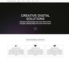 simple landing app page bootstrap 3 website templates on creati