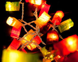 20 starmoon u0026 sun paper lantern string lights warm lights