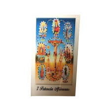 prayer card 7 powers laminated prayer card original products botanica