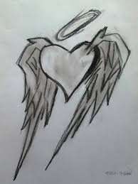 emo heart with angel wings by evamcqueen on deviantart