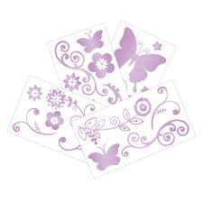 products lambs ivy butterfly lane wall appliques