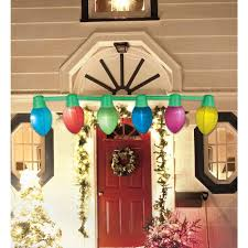 Home Depot Inflatable Christmas Decorations Airflowz 9 Ft Hanging Light Parade Inflatable Christmas Bulbs