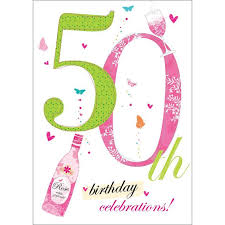 50 birthday card morrisons 50th birthday card product information