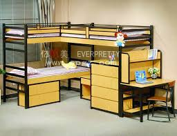 Bunk Beds For College Students College Furniture School Dormitory Decker Metal Student