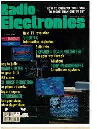 radio electronics magazine 11 november 1981 videocassette