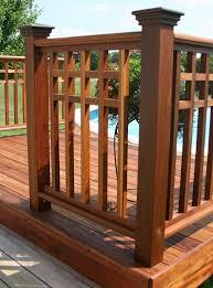 Mahogany Banister Ipe Pre Assembled Handrail Cedar And More Cedar Cypress