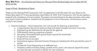bid proposal sample security guards companies