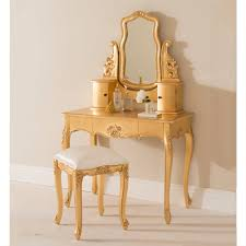 french style dressing table cheap gold leaf antique french dressing table set