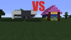 Ultra Modern House Ultra Modern House Vs Ugliest House In Minecraft Minecraft 1 12