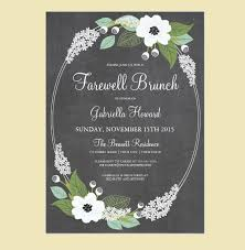17 farewell invitations jpg ai illustrator download