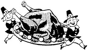 thanksgiving black and white vintage thanksgiving clip turkeys