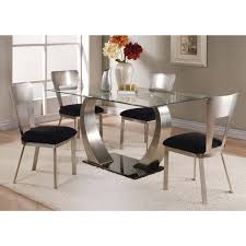camille dining table with glass top by acme furniture 10090 acme