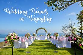 Wedding Venues In Montana 7 Amazing Wedding Venues In Tagaytay Where To Go In Tagaytay